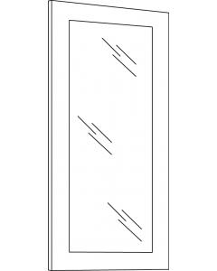 Townsquare Grey - W3630BGD (2pcs/set)