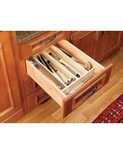 """TRIMMABLE WOOD UTILITY TRAY 18 1/2"""" TO 8 1/2"""""""
